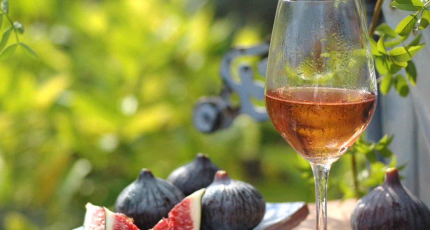 Figues et rosé de Provence AOC