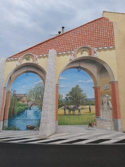 Fresque au faubourg St Antoine