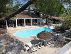 Terrasse et piscine