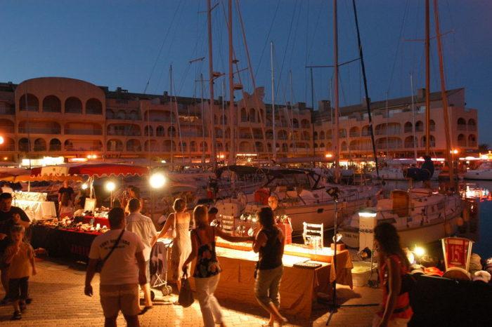 Nuitées artisanales du port – hyeres juillet aout