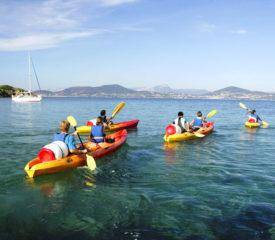 location de kayak la madrague Giens