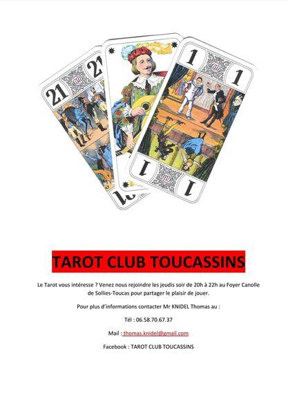 Tarot club Toucassin