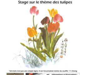 2018 01 Calligraphie_Tulipes