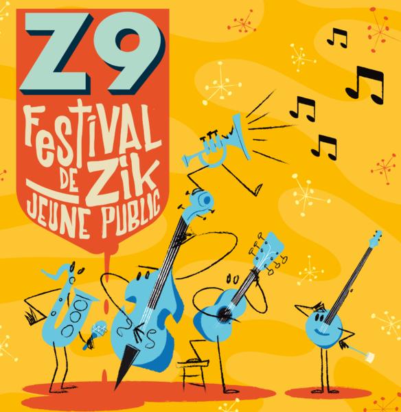 Affiche FESTIVAL ZIK Jeune Public 2019