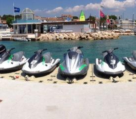 Baptême et randonnée en jet ski