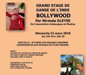 Stage de danse de l'inde bollywood la seyne