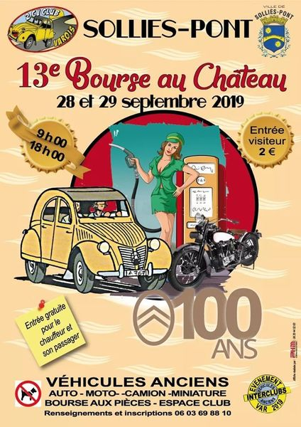 Bourse expo du 2CV club