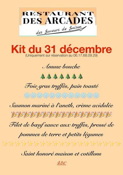 Kit du 31 décembre